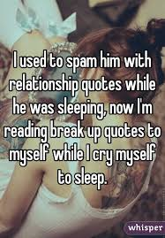 i used to spam him relationship quotes while he was sleeping