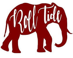 Roll Tide Decal Etsy