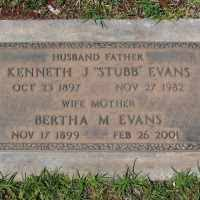Kenneth James Evans (1897-1982) • FamilySearch