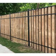 Aluminum Wood Fence Rails At Lowes Com