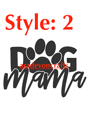 Dog Parent Car Decal 3 Style Choices Sold By Aradevon Crafts On Storenvy