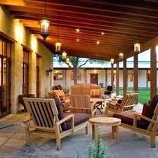 covered patio lighting ideas
