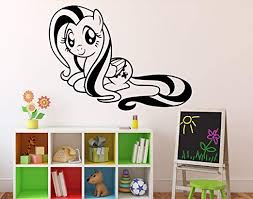 My Little Pony Fluttershy Vinyl Decal Wall Sticker Kids Home Garden Wall Decals Stickers Ayianapatriathlon Com