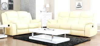 amazing white leather couch set estate