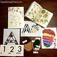 leaf theme pre and kindergarten