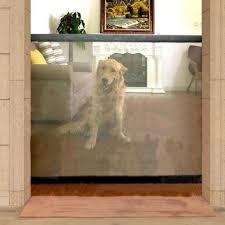 Indoor Dog Fence The Magic Mesh Retractable Indoor Dog Gate Dublin Trends