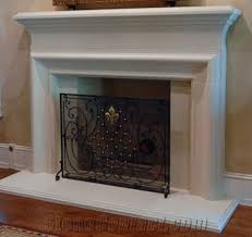 cast stone fireplace mantel artificial
