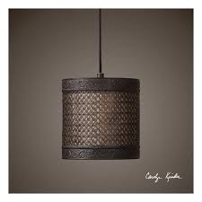 drum industrial pendant lighting