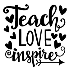 Teach Love Inspire Vinyl Decal Car Window Cup Mug Teacher Gift Pick Size Color Ebay