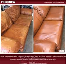 fibrenew this leather couch