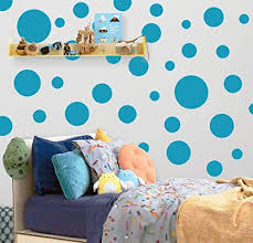 Polka Dot Wall Decals 63 Girls Room Wall Decor Stickers Wall Dots Vinyl Circle Peel