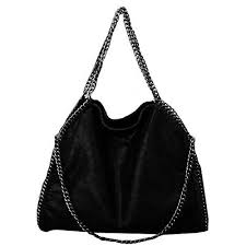 oversize soft pu leather shoulder bag