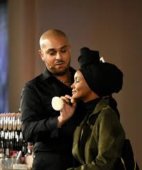 how rihanna makeup artist landed fenty