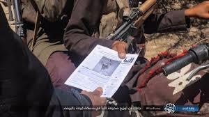توزيع منشورات ترويجية لداعش في اليمن
