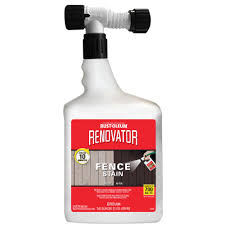 Rust Oleum 56 Oz Redwood Renovator Fence Stain 321637 The Home Depot