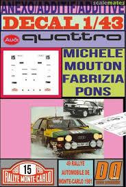 Audi Quattro In Np 60 Bp Decal Designers 3 051
