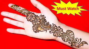 mehndi design beautiful latest
