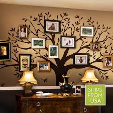 A Funky Artistic Way To Honor Family With Family Tree Wall Decals Family Tree Wall Decal Family Tree Decal Family Tree Wall Sticker