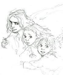 Fan Art Sketch Based On Philip Noyce S Film Adaptation Of Across The Rabbit Proof Fence Art Sketches Art Fan Art