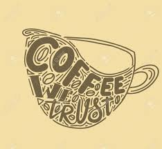 coffee quotes decorative letter hand drawn lettering quote