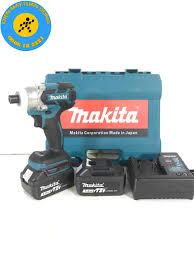 Máy bắt vít chuyên dụng dùng pin Makita 72V KHÔNG CHỔI THAN - 2 PIN