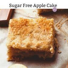 no sugar added apple cake the sugar