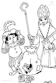 Kleurplaat Sinterklaas De Zak De Zak Van Sinterklaas Is Stuk