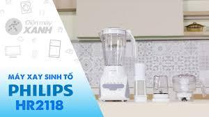 Máy xay sinh tố Philips HR2118 - giá rẻ, giao ngay