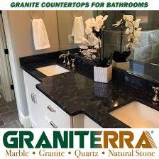 granite bathroom countetops granite