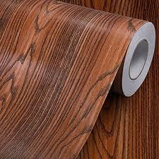 Wood Grain Contact Paper Self Adhesive Vinyl Shelf Liner Covering For Kitchen Countertop Cabinets Drawer Furniture Wall Dec Vinyl Shelf Shelf Liner Countertops