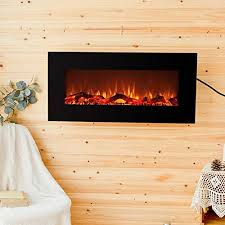 electric fireplace indoor space heater