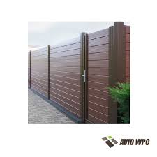 china wpc garden fence manufacturer