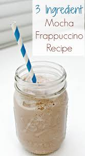 3 ing mocha frappuccino recipe