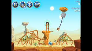 Angry Birds Star Wars 2 Level B2-9 Escape To Tatooine 3 star ...