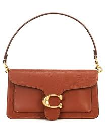 coach tabby pebble leather shoulder bag