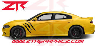 Custom Dodge Charger Claw Fender Decals Ztr Graphicz