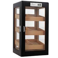 100 cigars glazed cigar cabinet
