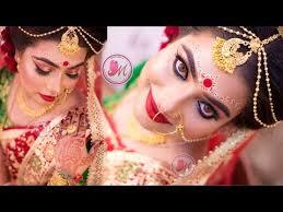 bengali bridal eye makeup tutorial