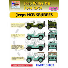 H Model Decals 35033 Willys Jeep Mb Ford Gpw Ncb Seabees Decals 1 35 The Largest Choice With 1001hobbies Com