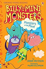 Monsters on the Move (Billy and the Mini Monsters, book 6) by Zanna Davidson