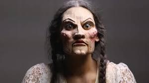 creepy doll makeup freakmo gif gfycat