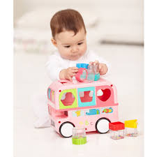 shape sorting bus pink toys malta