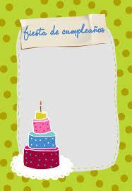 Celebracion De Cumpleanos Invitacion Destacada Para Imprim Con