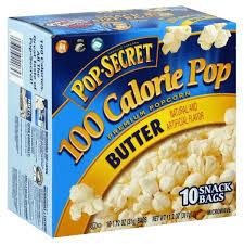 pop secret microwave popcorn er 100