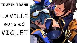 Truyện tranh Laville | Laville thích thú khi gặp Violet - YouTube