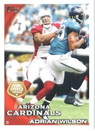 Amazon.com: 2010 Topps NFL Football Card #229 Adrian Wilson ...