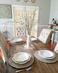 farmhouse table setting view larger