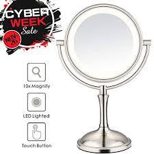 makeup mirror 10x magnifying