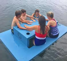 there s now a floating picnic table you