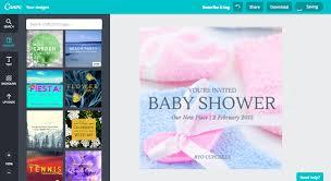 Haz Tu Propia Invitacion Para Baby Shower Gratis Canva